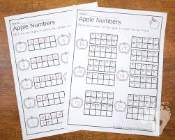apples u0026 pumpkins ten frame activities no prep u0026 hands on 3