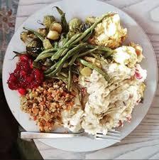 the vegetarian thanksgiving menu daily garnish
