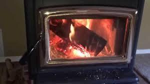 epa pacific energy super 27 wood stove burning no smoke youtube