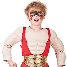 halloween wwe costumes wwe wrestler boys fancy dress wrestling party childrens wwf book