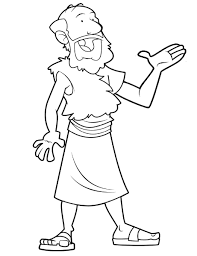 prophet drawing kids prophet elijah coloring pages bible stuff