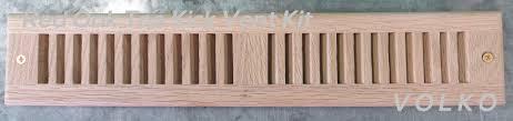 volko wood vents and grills toe kick wood vents