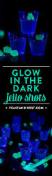 vodka tonic blacklight glow in the dark jello shots feast west