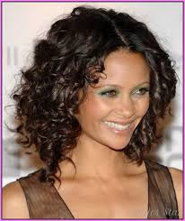 medium length haircuts curly stylesstar com