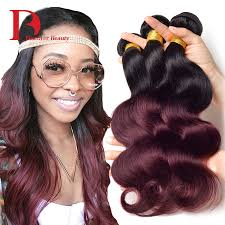 db ombre hair bundles brazilian virgin hair body wave bundles
