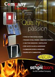 Fire Rated Doors With Glass Windows by S U0026 S Industries Manufacturers U0026 Dealers Doors Fire Doors