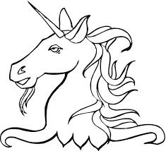 printable 17 unicorn head coloring pages 5949 mystical creature
