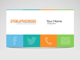 13 example of social media business card free u0026 premium templates