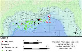 Gulf Of Mexico Block Map by Upper Jurassic Tithonian Centered Source Mapping In The Deepwater