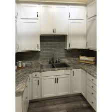 white shaker corner kitchen cabinet smart sheffield white shaker 36 blind corner base cabinet