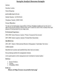 resume format for computer teachers doctrine for different types of analyst resume formats visit www