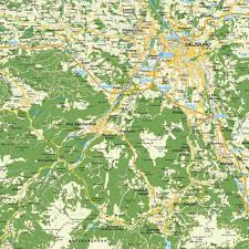 Bavaria Germany Map by Map Of Greater Salzburg Austria And Freilassing Bavaria Germany