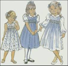 childrens corner cc013 amy smocked jumper dress sewing pattern