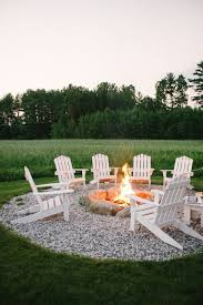 Backyard Landscaping With Fire Pit - best 25 outside fire pits ideas on pinterest fire pits backyard