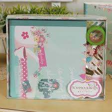 scrapbook album kits online shop eno greeting vintage photo album scrapbook kit diy