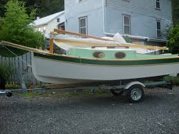Trailer Garage by On The Trailer And Out Of The Garage Build A Boat Sail Away