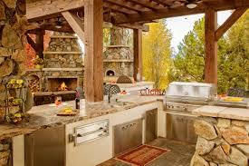 rustic outdoor kitchen ideas kitchen traditional outdoor kitchen ideas outdoor built in grills
