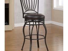 furniture exciting padded swivel bar stools with back counter