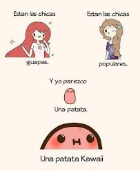 Meme Kawaii - una patata kawaii meme by exylio memedroid