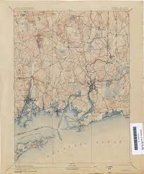 Connecticut On Map Connecticut Historical Topographic Maps Perry Castañeda Map