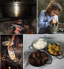 cours de cuisine 974 far far kréol atelier de cuisine créole au feu de bois