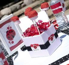 ladybug baby shower favors ladybug baby shower centerpiece ideas omega center org ideas