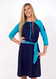 a line swim dress dusty navy turquoise tall modli
