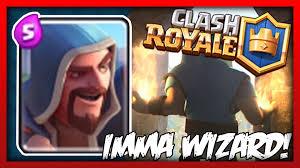 clash royale imma wizard youtube