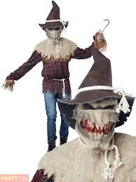 scarecrow halloween mens scary scarecrow costume motion mask sadistic