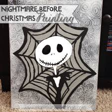 the nightmare before christmas art mommy makes things