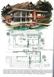 1950s Modern Home Design | spectacular design 2 1950s modern house floor plans 17 best images