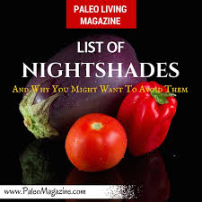list of nightshades foods and why you might want to avoid them