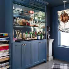 slate blue painted kitchen cabinets the best blue gray paint colors designers always use