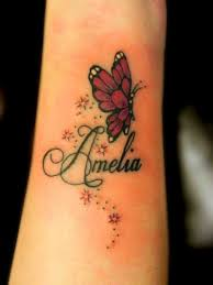 baby name designs on wrist 18 baby name tattoos name