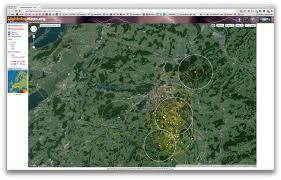 Uber Live Map Blitzeinschläge In Echtzeit Auf Google Maps Anzeigen Lassen