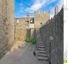 guimaraes castle interior the most famous castle in portugal