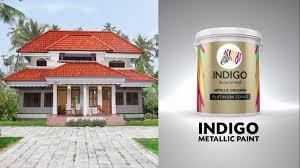 indigo metallic paint shirshasana hindi youtube