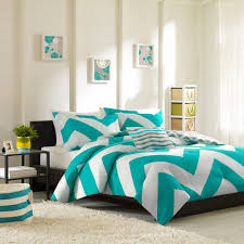 bedroom black and white and teal bedding expansive vinyl pillows