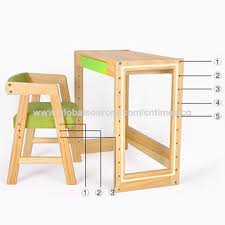 china 2016 best price children wooden study table chair w08g156a
