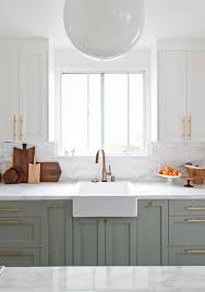 grey green kitchen cabinets 2018 trend green cabinetry becki owens