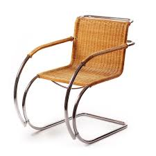bauhaus mies van der rohe 20th century furniture mr20 chair