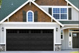 garage doors now available in black