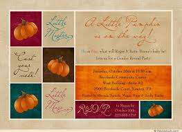 chic autumn baby shower invitation photos ultrasound