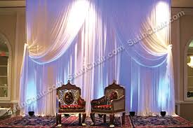 rent wedding ceremony stage decor backdrops lighting mandap