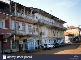bissau guinea bissau the old portuguese quarter with