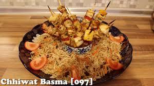 basma cuisine chhiwat basma 097 طريقة تحضير شعرية لذيذة وقطبان الدجاج