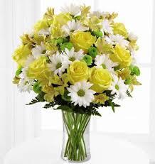 white flower arrangements lemon lime bouquet kremp
