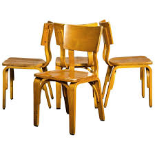 Thonet Vintage Chairs Single Vintage Thonet 1990s Stackable Series C Bentwood Maple
