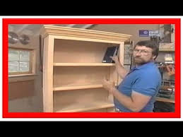 Build Wood Bookcase Plans by How To Build A Bookcase Bookcase Building Youtube