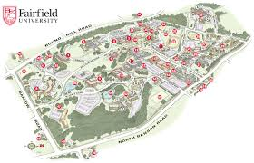 Fresno State Campus Map Fairfield University Map Uptowncritters
